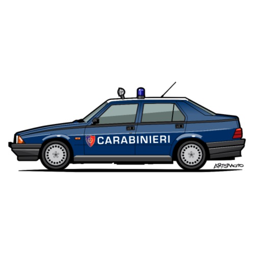 Alfa Romeo 75 Carabinieri - Men's Premium T-Shirt