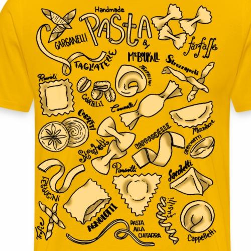 Pasta- Colour - Men's Premium T-Shirt