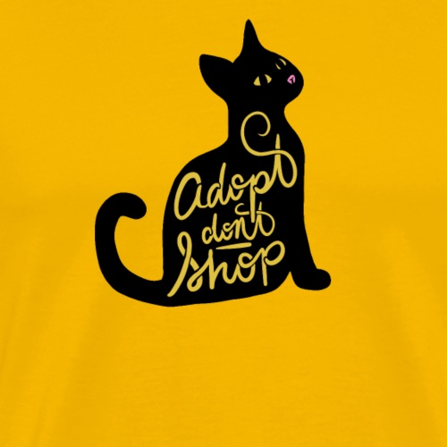 Adopt don't shop - Men's Premium T-Shirt