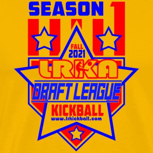 LRKA Draft League Logo - Men's Premium T-Shirt
