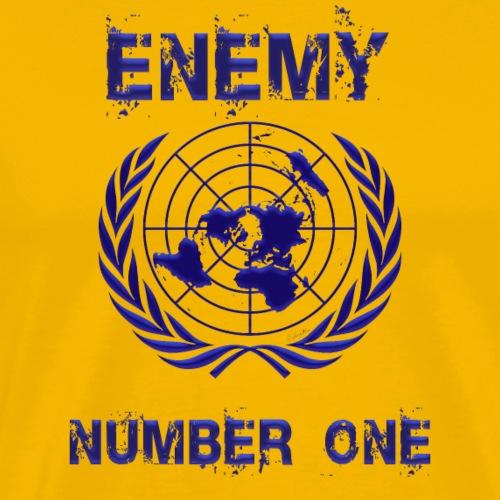 Enemy U.N. - Men's Premium T-Shirt