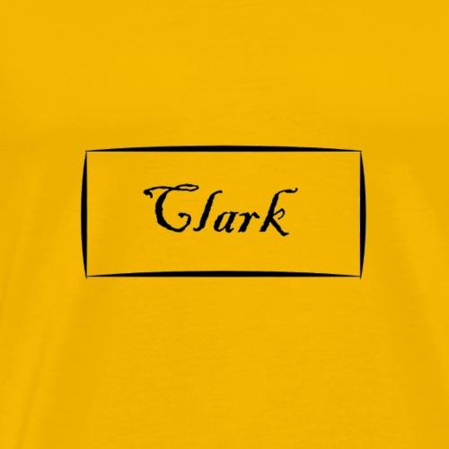 Clark - Men's Premium T-Shirt