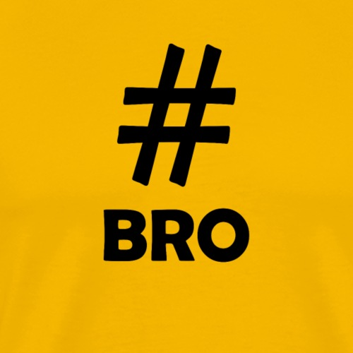Bro Black - Men's Premium T-Shirt