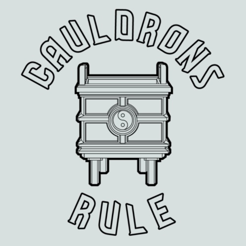 Cauldrons Rule (black) - Men's Premium T-Shirt