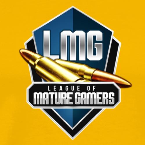 LMG Retro Logo - Men's Premium T-Shirt