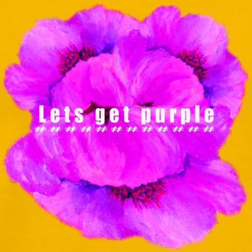 lets_get_purple_2 - Men's Premium T-Shirt