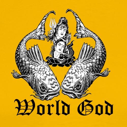 world god - Men's Premium T-Shirt