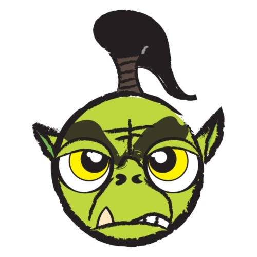 Warcraft Baby Orc - Men's Premium T-Shirt