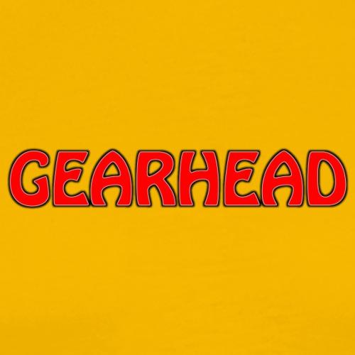 GEARHEAD LOGO - Men's Premium T-Shirt