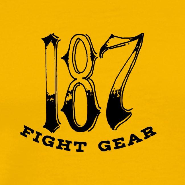 Trevor Loomes 187 Fight Gear Logo Best Sellers