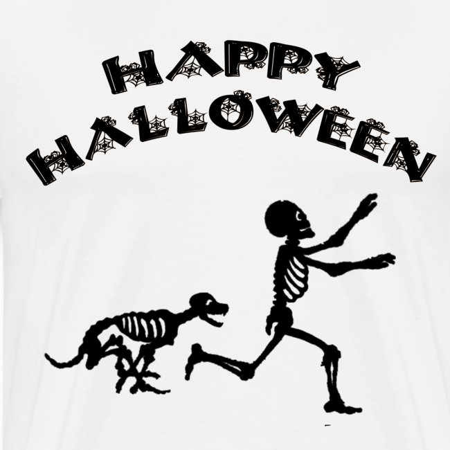 Halloween Boy and Dog