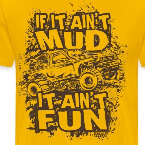 Mega Truck Mud Fest - Men's Premium T-Shirt