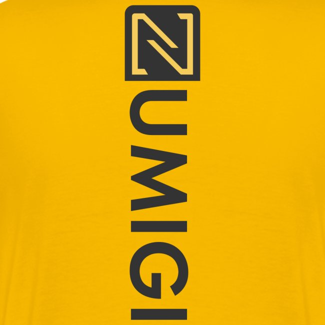 Jaune avec NUMIGI logo BW