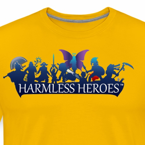 Offline - Harmless Heroes - Men's Premium T-Shirt