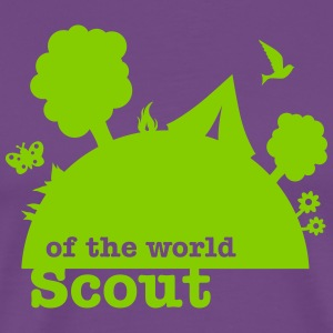 Scout of the world - Men's Premium T-Shirt