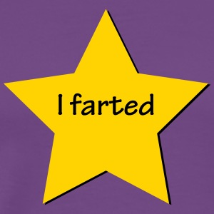 I Farted Gold Star - Men's Premium T-Shirt