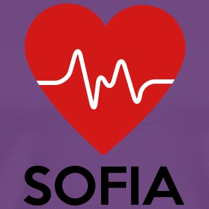 Heart Sofia - Men's Premium T-Shirt