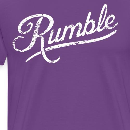 Anthony Rumble T Shirt - Men's Premium T-Shirt