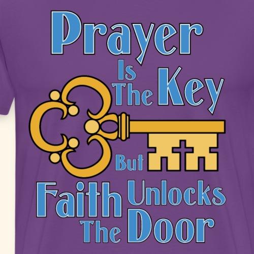 Prayer Is the Key - Men's Premium T-Shirt