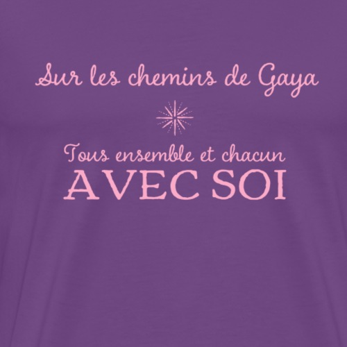 On the paths of Gaya - Men's Premium T-Shirt