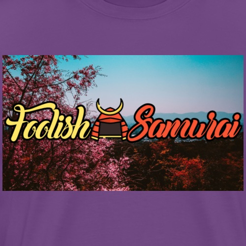 foolishsamurai - Men's Premium T-Shirt
