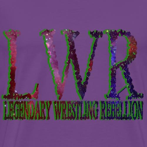 LWR Logo Galaxy Green - Men's Premium T-Shirt