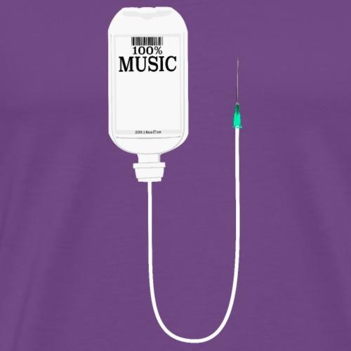 Music is my medicine - Men's Premium T-Shirt