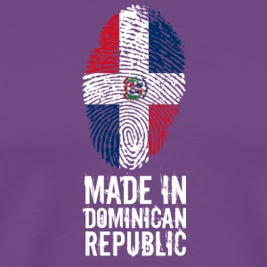 Made In Dominican Republic - Men's Premium T-Shirt