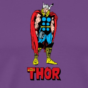 Full Colored 80's The Mighty Thor - Men's Premium T-Shirt