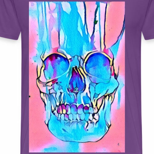 Skull N Splash - Men's Premium T-Shirt