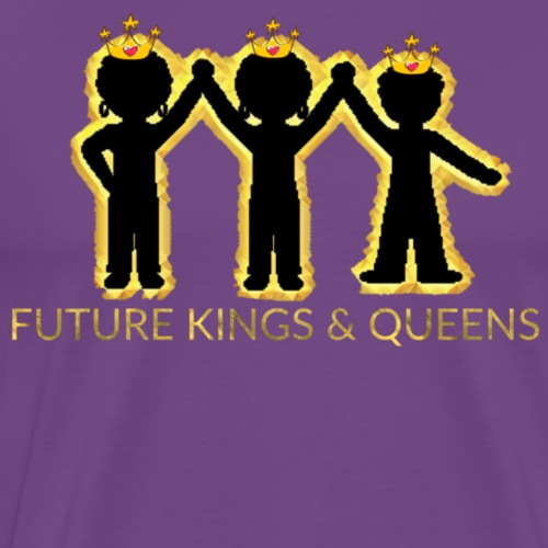 FUTURE KINGS AND QUEENS KIDS - Men's Premium T-Shirt