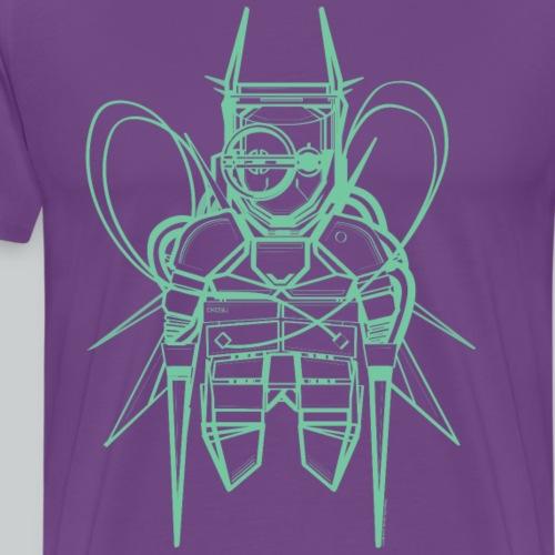 Neon green T-shirt - Men's Premium T-Shirt
