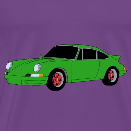 Sports Car 911 RS 2.7 green - Men's Premium T-Shirt
