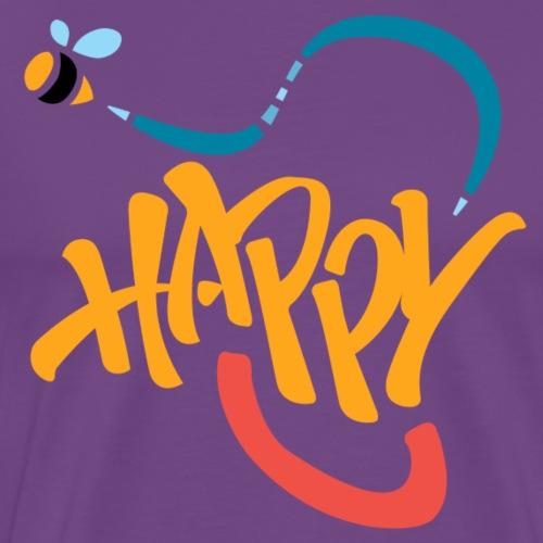 Bee Happy - Men's Premium T-Shirt