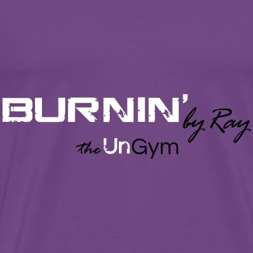 Burnin T Shirts on pink - Men's Premium T-Shirt