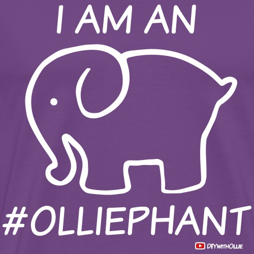 I Am An #Olliephant - Men's Premium T-Shirt
