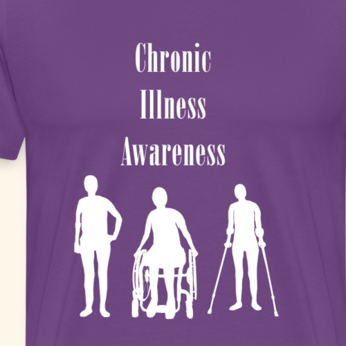 Chronic Illness Awareness - Men's Premium T-Shirt