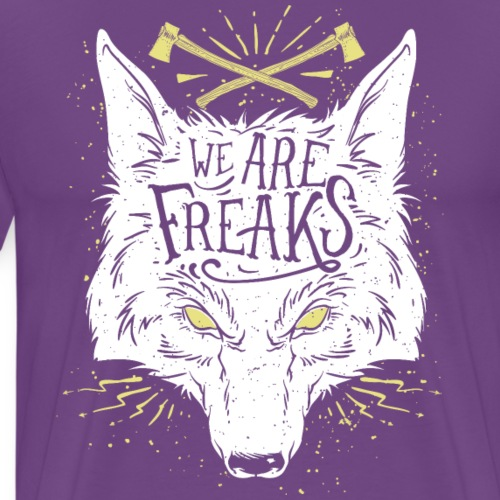 We are freaks - Men's Premium T-Shirt