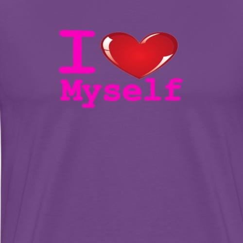 i Love Myself -Pink- Best Selling Design - Men's Premium T-Shirt