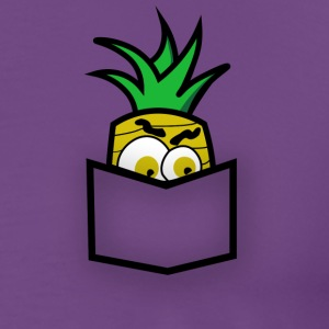 Pocket Pineapple - Men's Premium T-Shirt