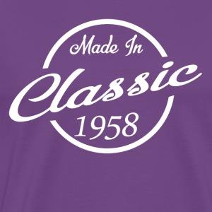 Classic Made in 1958 60th Birthday Gift - Men's Premium T-Shirt