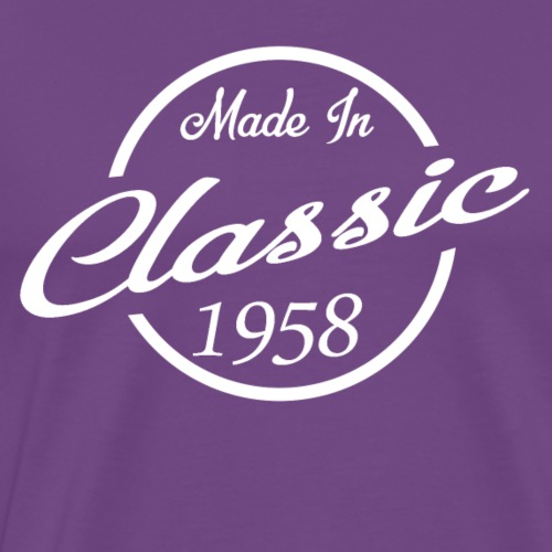 Classic Made in 1958 60th Birthday Gift - Men's Premium T-Shirt