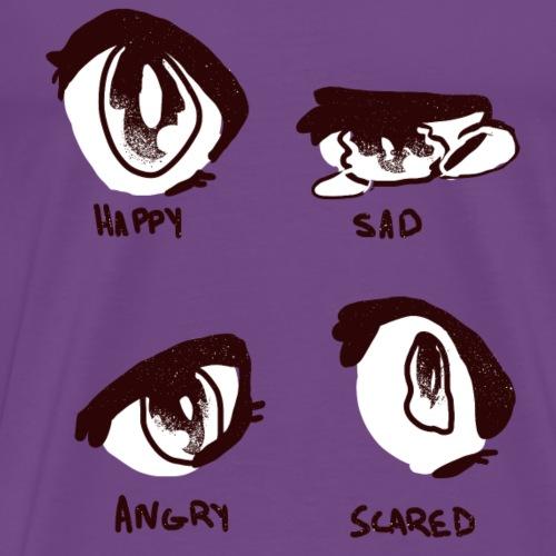 Manga Eyes - Men's Premium T-Shirt