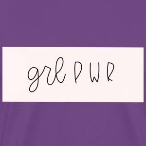 GRLPWR BAND - Men's Premium T-Shirt