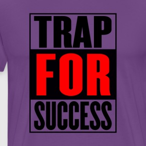 trap_for_succes_for_white_tshirt_-2- - Men's Premium T-Shirt