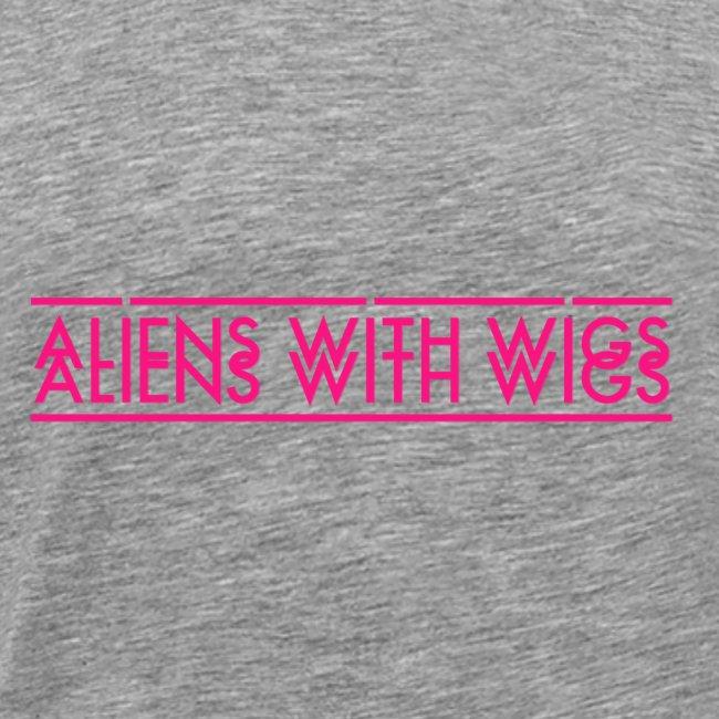 AliensWithWigs-Logo-Rose