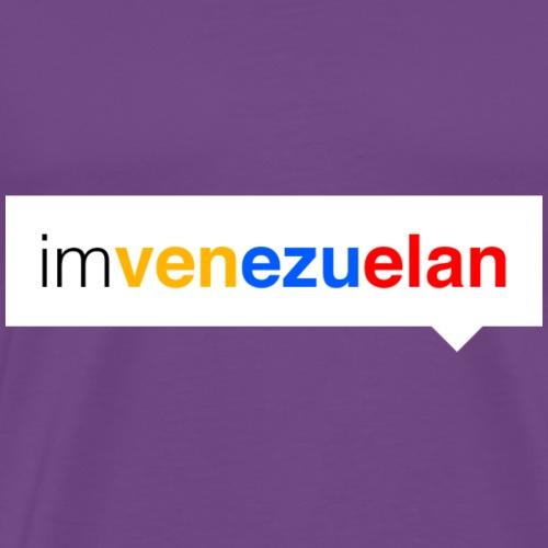 im.venezuelan - Men's Premium T-Shirt