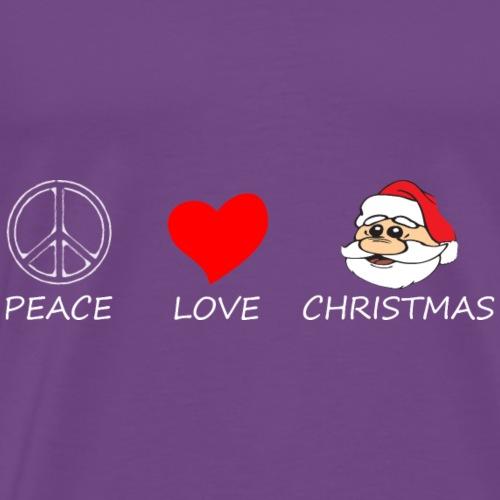 peace love11 - Men's Premium T-Shirt