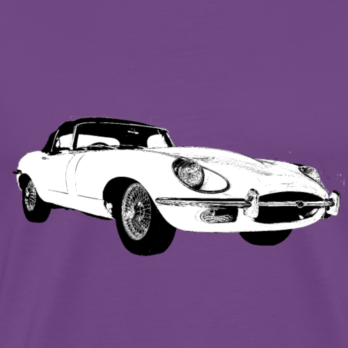 E type jag - Men's Premium T-Shirt