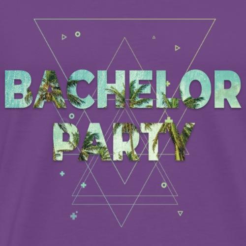 Bachelor Party 2018 Beach Edition - Men's Premium T-Shirt